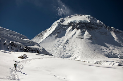 """Beneath the Giant IV""  Dhaulagiri (8167 m)."