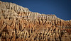 """Ridges of Red I""<br /> <br /> A closeup of the fairytale cliffs of Drakmar, in the heart of the kingdom of Mustang, Nepal."