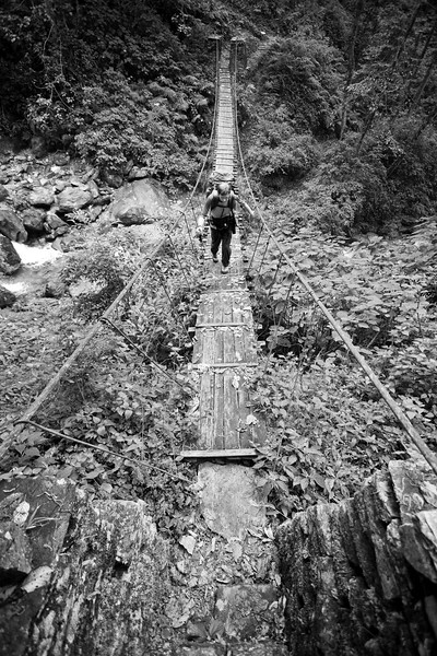 """Scenes from the Annapurna Sanctuary Trek IV"""