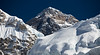 """Scenes from the Khumbu I""<br /> <br /> Everest, 8848 m."