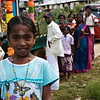 A young girl who wanted her picture taken
