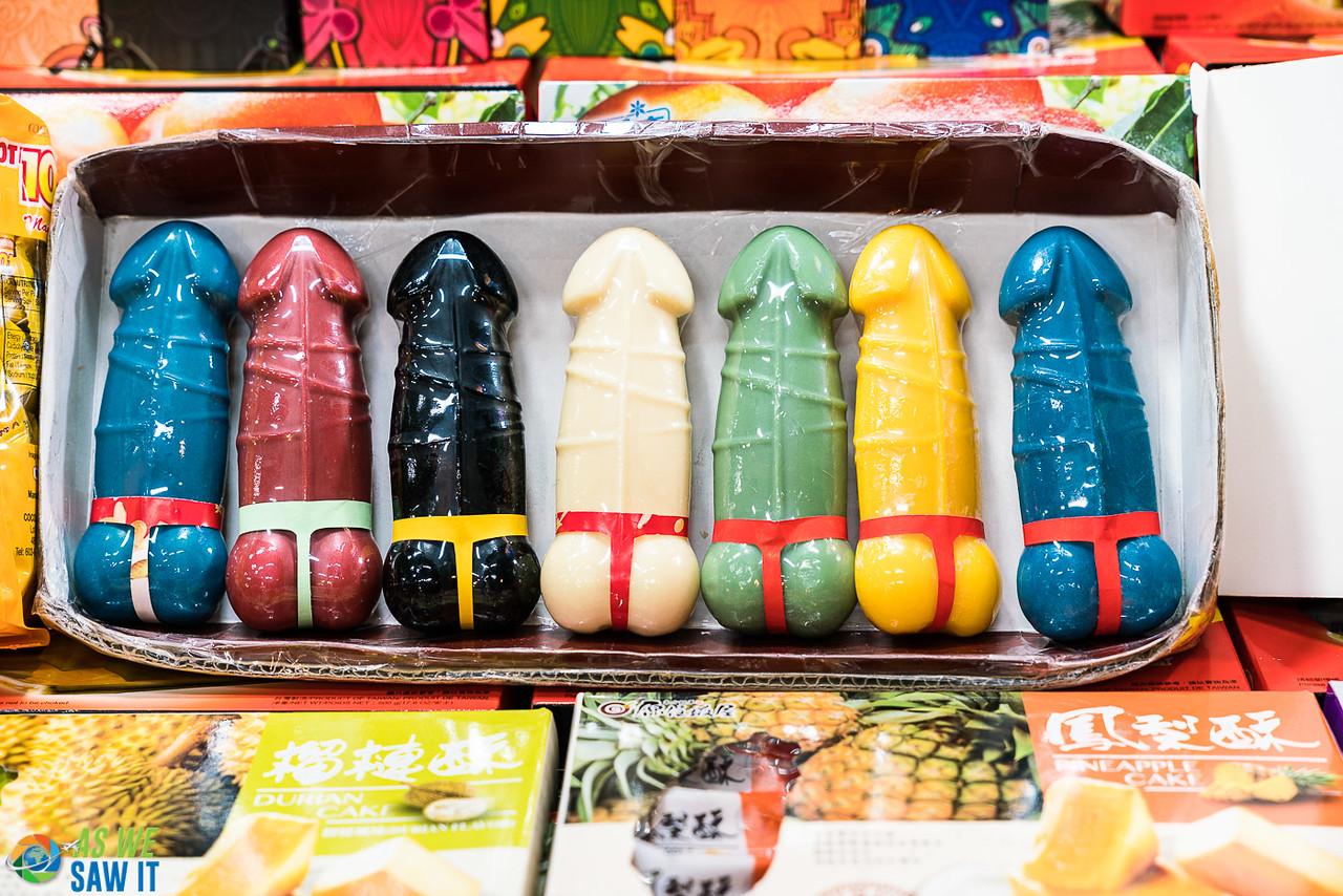 Penis Cakes at Shilin Night Market