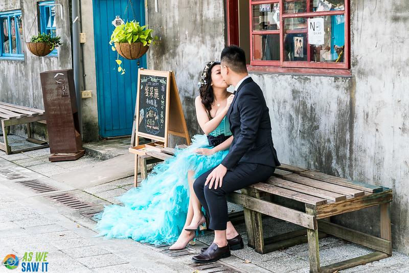 Wedding near Taipei 101
