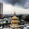 tour, phone, motorbike, saigon, panoramic