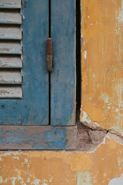 Aged Shutters