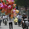 Why did the balloon lady cross the road?