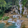 Beautiful large falls at Kuang Si W