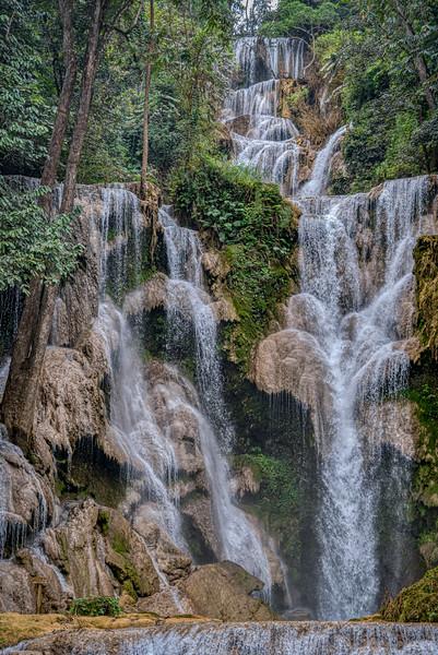 Main falls of the Kuang Si
