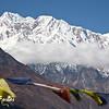 Annapurna III from Ghyaru, Annapurna circuit, Nepal
