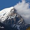 Himalayas from Yak Kharka, Annapurna circuit, Nepal