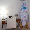 The Room753 surf board