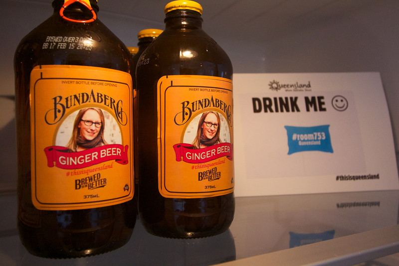 Personalized ginger beer