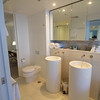 My modern bathroom - a place to lay my toothbrush all week!