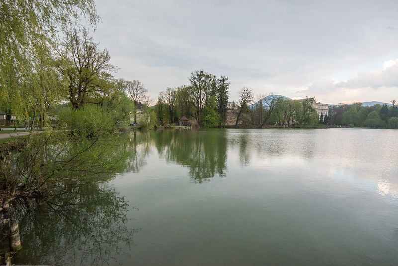 "Across the lake is the house featured in the movie ""Sound of Music"" shot in Salzburg, Austria."