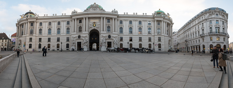 Hofburg Palace, Vienna, Austria. Hofburg Palace is the former imperial palace in the centre of Vienna. Part of the palace forms the official residence and workplace of the President of Austria.