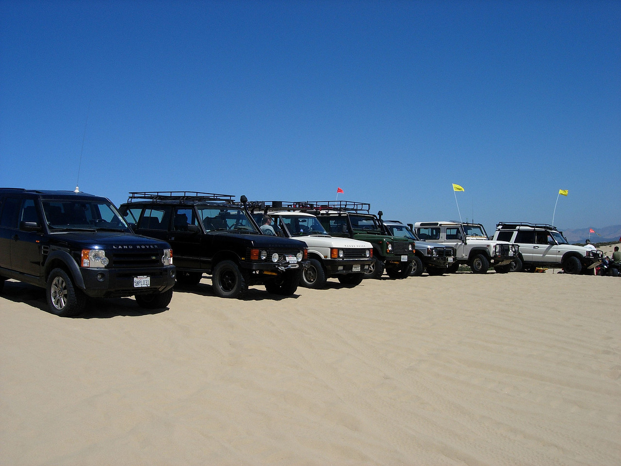 Pismo Beach; Land Rover; Off Roading; camping;