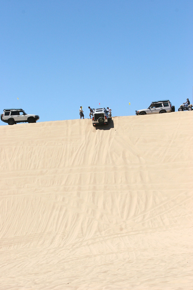 Final stage in Sand 101 - Hill Climb!