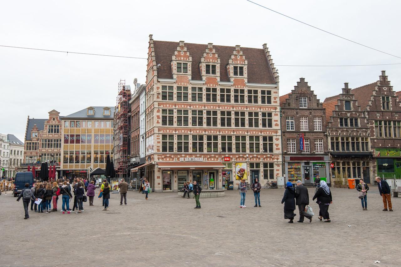 Korenmarkt, Ghent, Belgium.