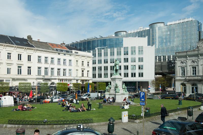 European Parliament - Information Office in Bruxelles, Belgium.
