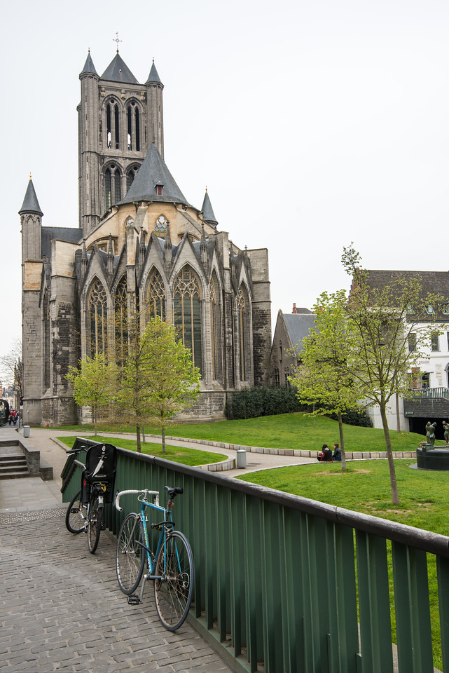 Saint Nicholas' Church, Cataloniëstraat, Ghent, Belgium.