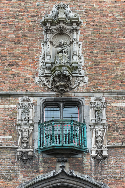 Facade, Breidelstraat, Brugge, Belgium