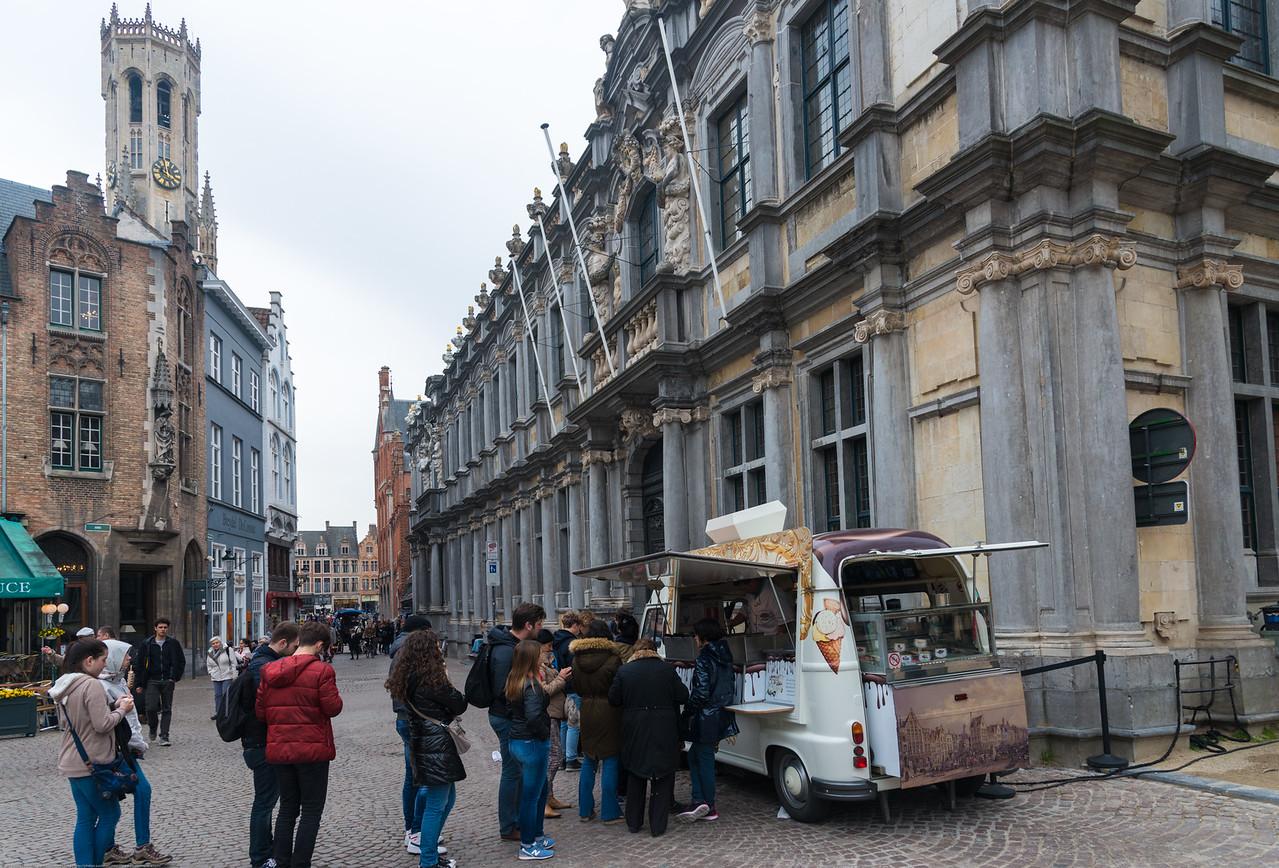 Near Bruges Beer Museum, Breidelstraat, Bruges, Belgium