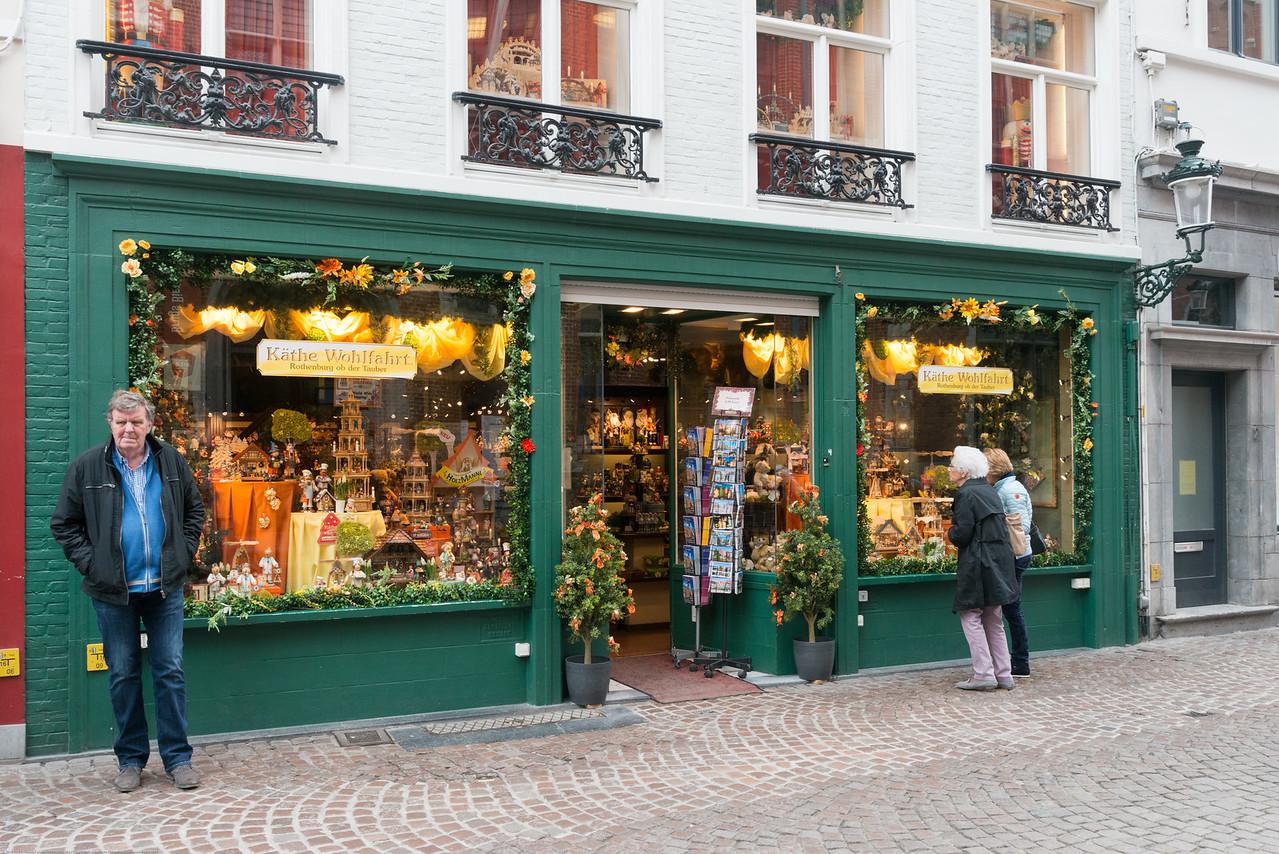 Streets of Brugge, Belgium.