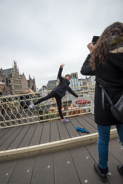 Photo time at Ghent, Belgium.