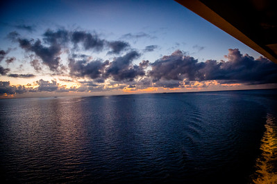 Sunrise: Coast of Belize