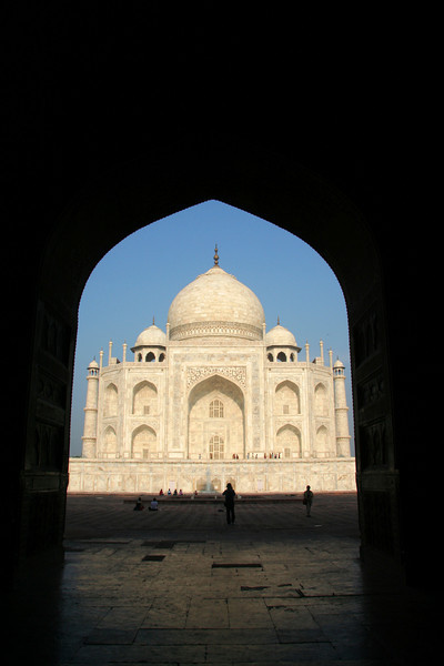 Taj Framed