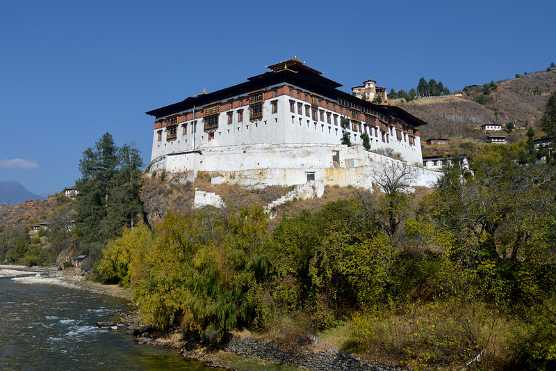 Rinpung Dzong is a large dzong - Buddhist monastery and fortress - of the Drukpa Lineage of the Kagyu school in Paro District in Bhutan. It houses the district Monastic Body and government administrative offices of Paro Dzongkhag.