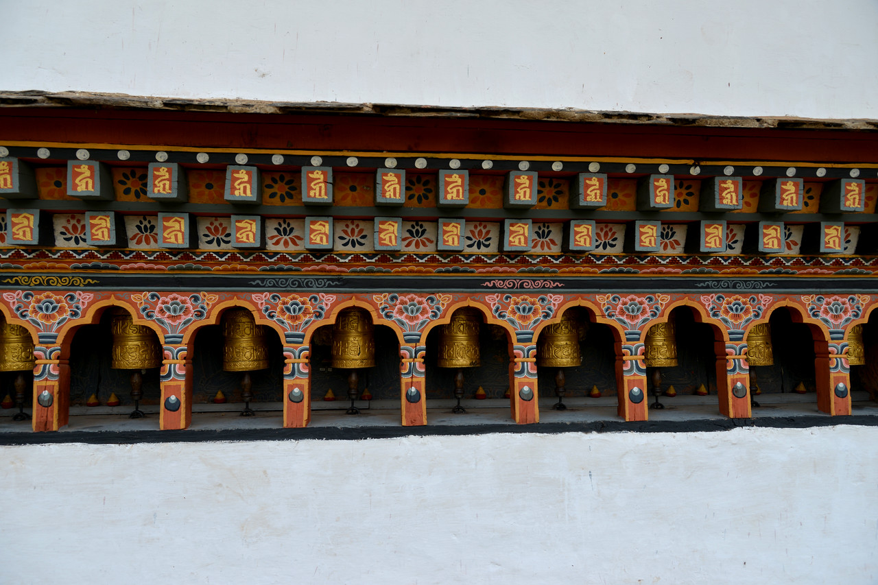 The Temple of Fertility (Chimi L'hakhang Temple), Punakha, Bhutan