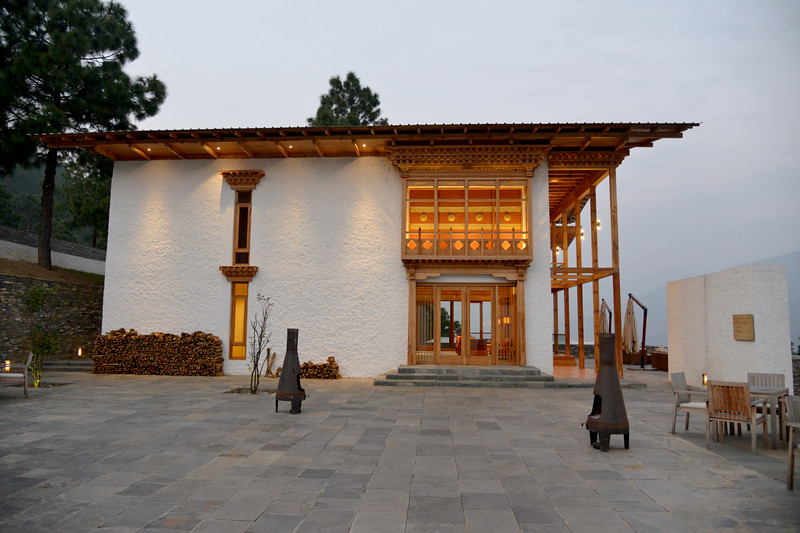 Entrance to the Dhensa Boutique Resorts. Dhensa Boutique Resorts opened its first resort in Bhutan's Punakha Valley in March 2014. Dhensa Resort is a boutique property, located in the heart of Bhutan's verdant and lush Punakha Valley. Flanked by thick pine forests, it overlooks the Punakha River and is surrounded by several walking and trekking trails.