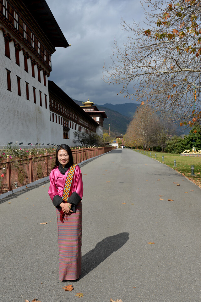 Tashichhodzong, Chhagchhen Lam, Thimphu, Bhutan.