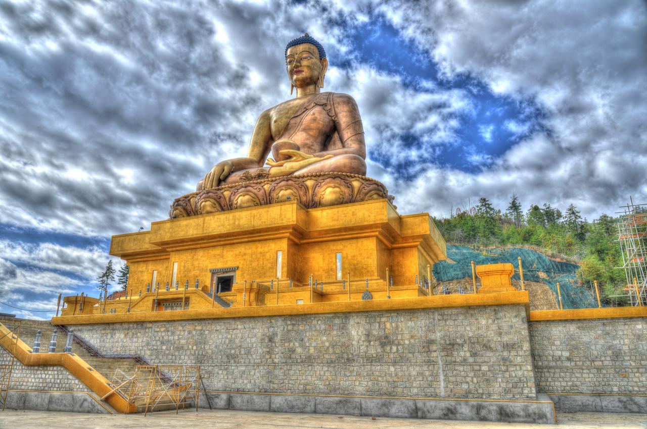 Buddha Dordenma, Kuenselphodrang, Thimphu, Bhutan.