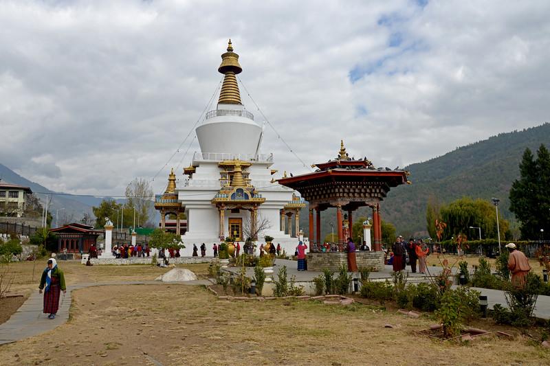 Memorial Chorten, Chhoten Lam, Thimphu, Bhutan