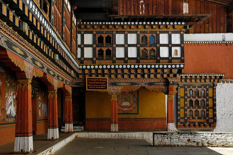 Royal Court of Justice. Rinpung Dzongkhag, Paro, Bhutan
