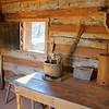 Inside Reconstructed Slave Cabin