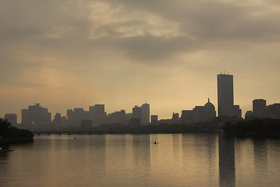 Charles River, Boston skyline