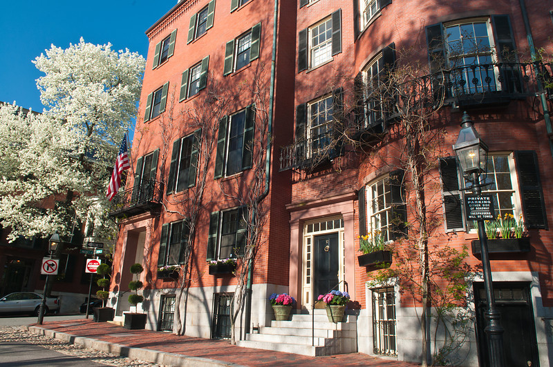 Spring Patriotism on Beacon HIll