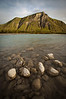 Riverside scene form the Toad River area, Northern British Columbia, Canada.