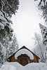 Wintry scenes from Wheeler Hut, Asulkan Valley and the general Rogers Pass area, Glacier National Park.