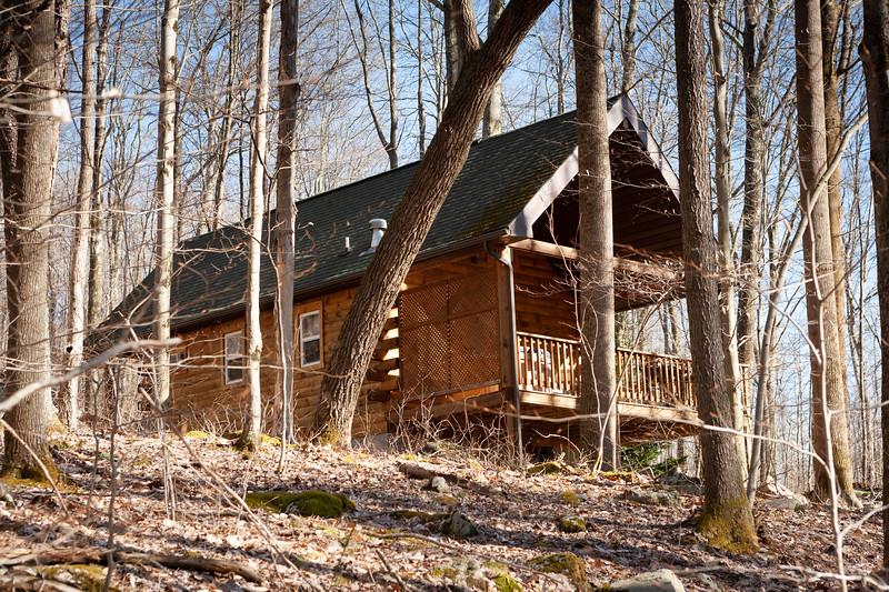 Mountain Creek Cabins, Bruceton Mills, WV. Digital. Apr 2018.