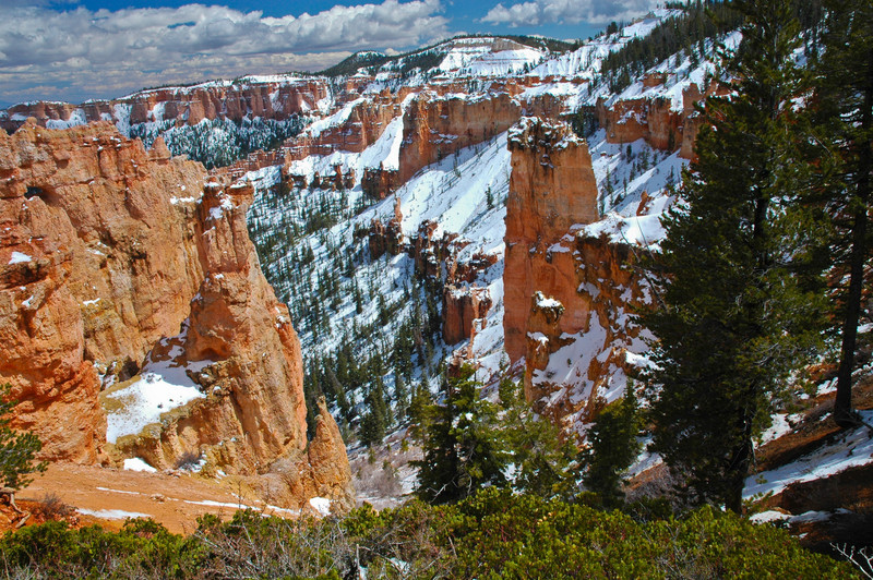 April Snows at Bryce