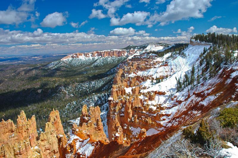 Snowy Vista at Bryce