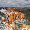 Late Snow in Bryce Canyon