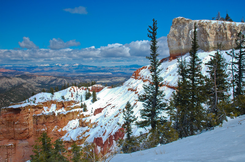Snowy Bryce Vista
