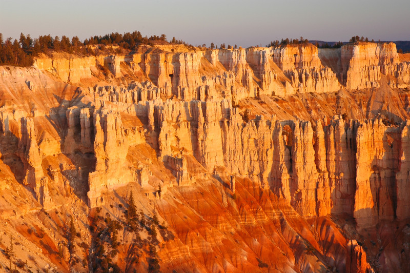 Sunrise from Sunset Point, Bryce Canyon