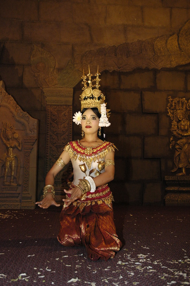 Dancer in Siem Reap, Cambodia.