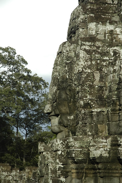 Angkor Wat Temple Complex which are crumbling and being restored. Siem Reap, Cambodia.